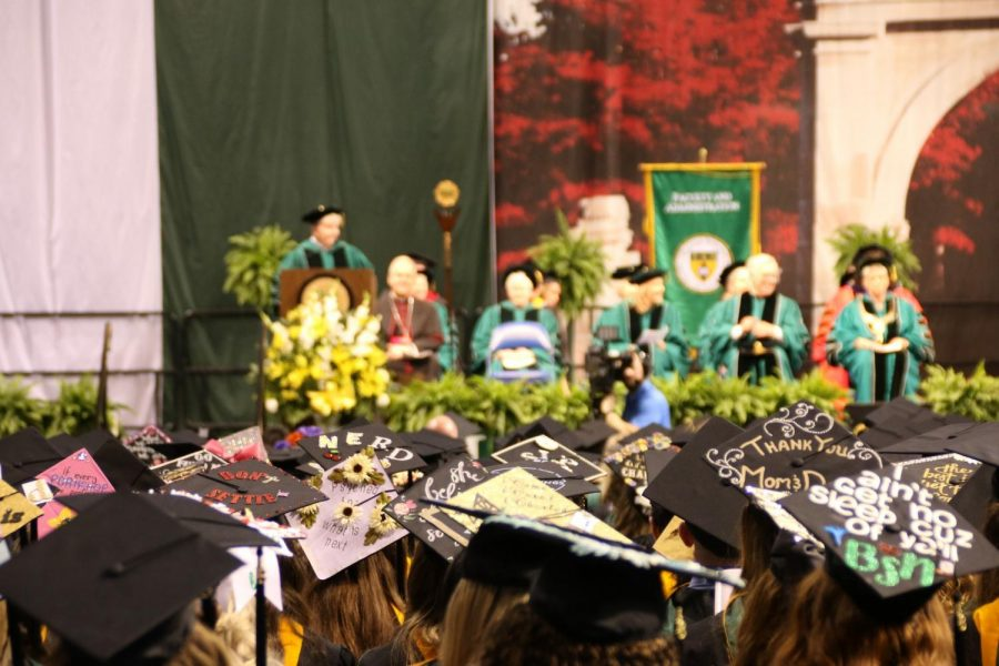 Marywood's 100th commencement ceremony. Photo credit: Jessica Bonacci