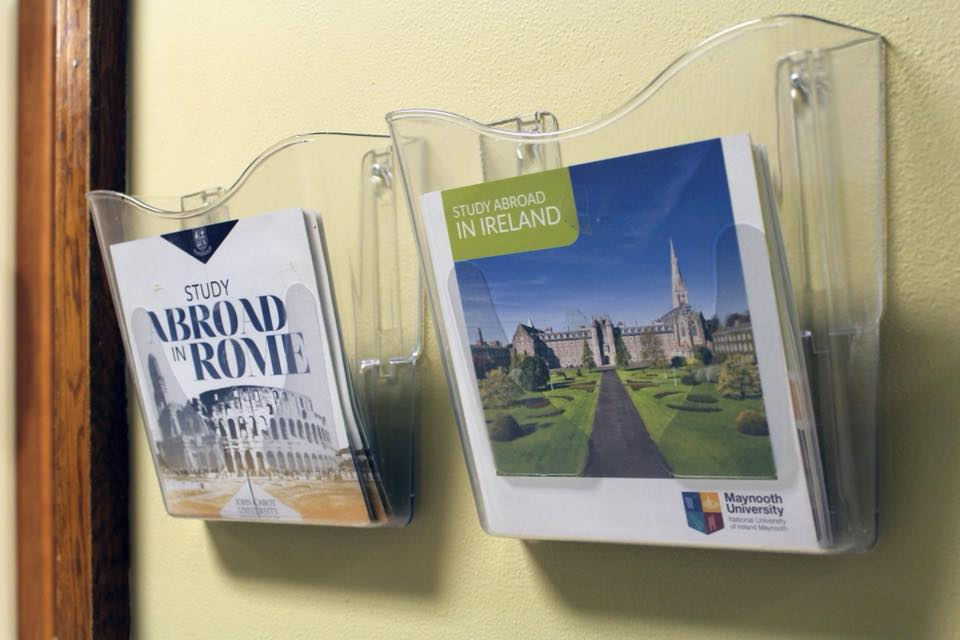 Marywood offers study abroad trips to various parts of the world for students.