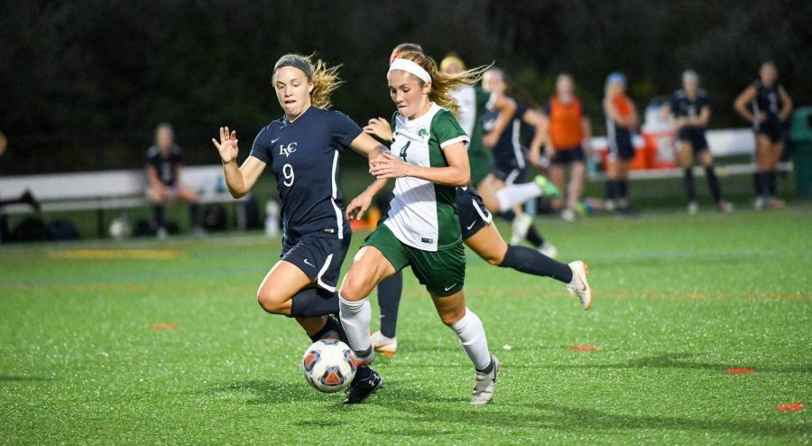 Team Captain Julie Youngman is leading the Pacers' charge into a new conference. Photo courtesy of Marywood Athletics