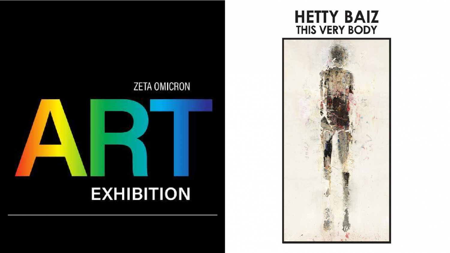 Marywood continues to open all new art exhibits. The Zeta Omicron and