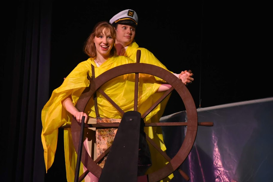 Sarah Wagner and Ellis Vogt perform as Cass and Captain Mike. Photo courtesy of Marywood Marketing and Communications