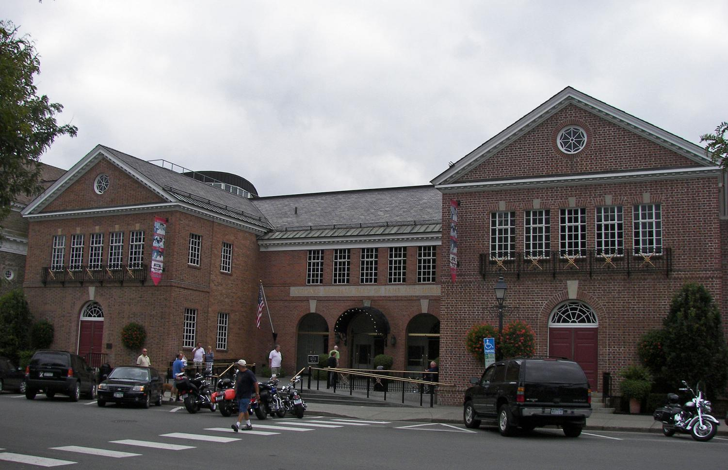 The Baseball Hall of Fame in Cooperstown, New York. Photo credit: Photo via Wikimedia Commons under Creative Commons license.