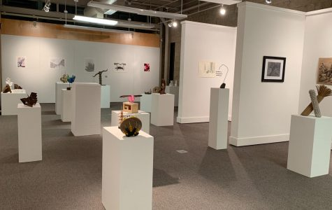 Marywood's Art Department hosts annual Foundation Year Exhibition