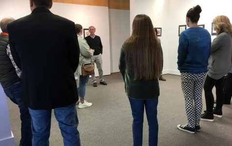 The annual Marywood Print Guild Exhibition features the works of people from all walks of life. Photo credit: Megan Reynolds