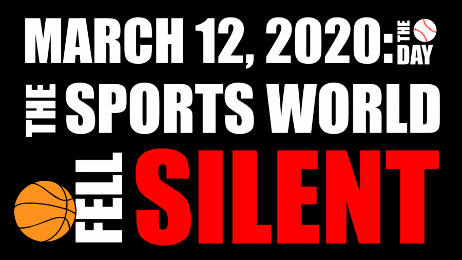 COMMENTARY: March 12, 2020: The day the sports world fell silent