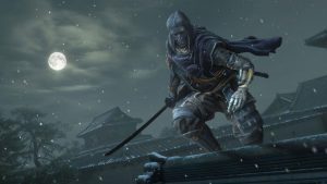"Wolf, the protagonist of ""Sekiro: Shadows Die Twice"" in one of the three costumes added in the upcoming update.  Photo Courtesy of Activision."