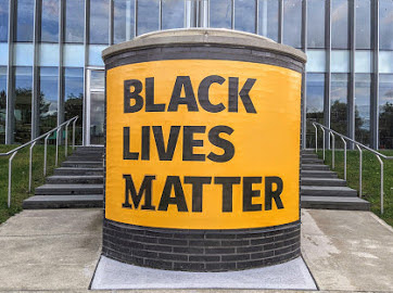 Marywood's Student Government Association (SGA) passed a resolution supporting the displaying of the Black Lives Matter banner on the Learning Commons overlook. Additionally, the resolution also supports steps the university is taking to educate the community on racism.