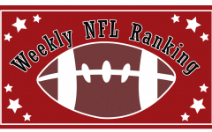 A shake-up this week left the New Orleans Saints moving up to the number three spot.