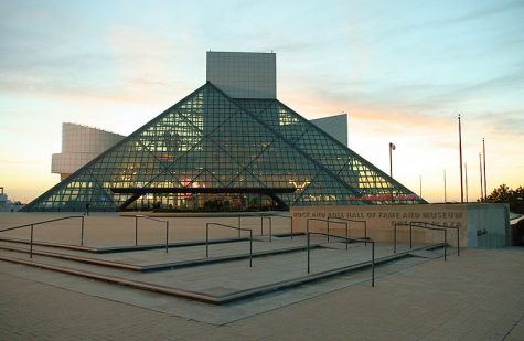 Every year the Rock & Roll Hall of Fame induction takes place at the museum in Cleveland, Ohio.
