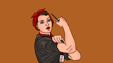 The iconic Rosie the Riveter image debuted in 1942 to demonstrate the revolution that women were creating in the workforce during World War II. Now Editor-in-Chief Briana Ryan it is time to take this revolution to the newsroom.