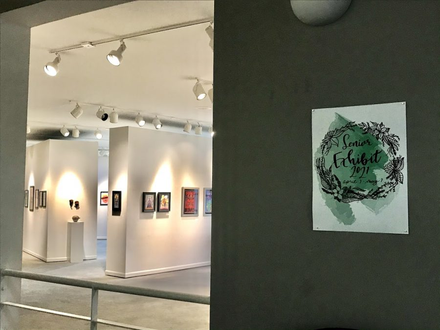 This year the Art Department's Senior Art Exhibit will take place in the Mahady and Suraci Galleries.